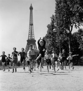 I giardini del Champ-de-Mars, 1944